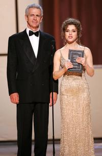 James Naughton and Bernadette Peters at the 60th Annual Tony Awards.