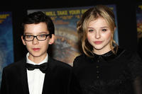 Asa Butterfield and Chloe Moretz at the Royal Film Performance 2011 of