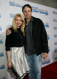 Kevin Nealon and Susan Yeagley at the wrap party and DVD release for