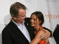 Sam Neill and Gabrielle at the premiere screening of