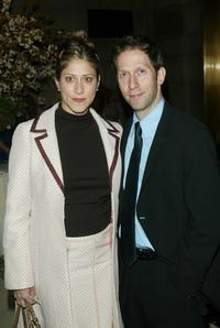 Tim Blake Nelson and his wife at the Risk-Takers In The Arts honors benefit hosted by the Sundance Institute.