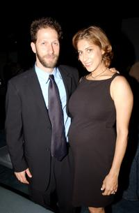 Tim Blake Nelson and his wife Lisa Kenavides at the party at Pressure, following the New York premiere of