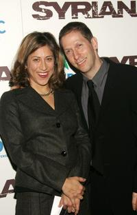Tim Blake Nelson and his wife Lisa at the premiere of