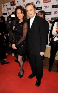 Jacqueline Bisset and Franco Nero at the Diva Entertainment Awards 2009.