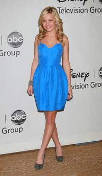 Brittany Robertson at the Disney ABC Television Group's Summer TCA party.