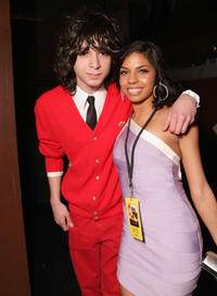 Actors Adam G. Sevani and Danielle Polanco at the after party of the L.A. premiere of