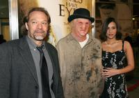 Gregory Nicotero, Chad Sutter and Sara Sutter at the premiere of