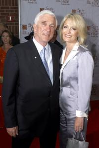 Leslie Nielsen and Barbaree at the 5th Annual Starkey Foundation Gala.