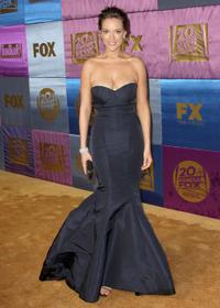 Alicja Bachleda at the FOX 2010 Golden Globes party.