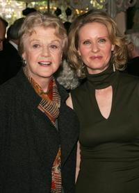 Cynthia Nixon and Angela Lansbury at the 2006 Tony Honors for Excellence In The Theatre luncheon at Tavern on the Green.