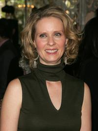 Cynthia Nixon at the 2006 Tony Honors for Excellence In The Theatre luncheon at Tavern on the Green.