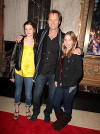 Jeffrey Nordling and Guests at the opening night of