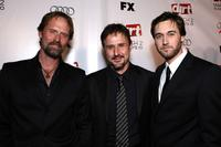 Jeffrey Nordling, David Arquette and Ryan Eggold at the 2nd season premiere screening of