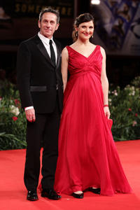 Alfredo Castro and Antonia Zegers at the premiere of