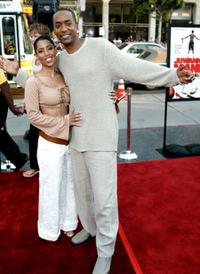 Betty Nunez and Miguel A. Nunez at the premiere of
