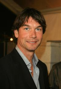 Jerry O'Connell at the Mercedes Benz Fashion Week.
