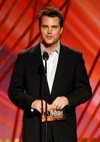 Chris O'Donnell at the 13th annual Critics' Choice Awards presents the award for Best Family Film.