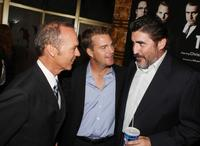 Chris O'Donnell, Michael Keaton and Alfred Molina at the Los Angeles premiere screening of