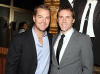 Chris O'Donnell and Alessandro Nivola at the Los Angeles premiere screening of
