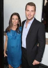 Chris O'Donnell and his wife Caroline at the Los Angeles premiere screening of