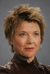 Annette Bening at the press conference for