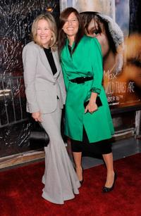 Catherine O'Hara and Catherine Keener at the New York premiere of
