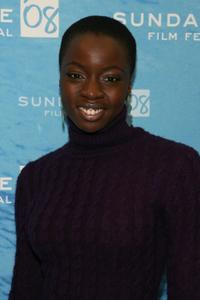 Danai Gurira at the premiere of