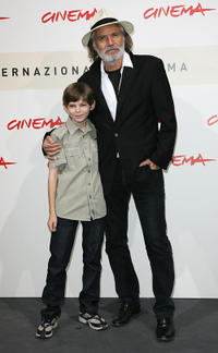 Robbie Kay and Rade Sherbedgia at the photocall of