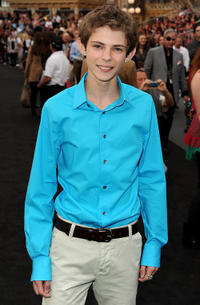 Robbie Kay at the Red Carpet of the California premiere of