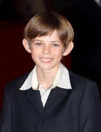 Robbie Kay at the premiere of