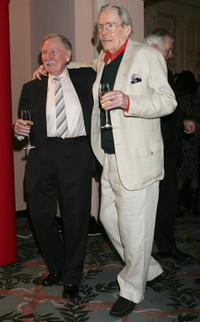 Peter O'Toole and Leslie Phillips at The Oldie Magazine's Oldie Of The Year Awards 2007.