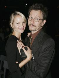 Gary Oldman and Alisa Marshall at the Hollywood afterparty for premiere of