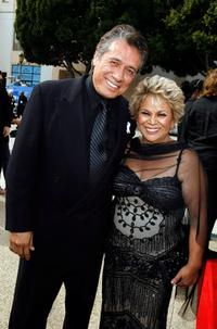 Lupe Ontiveros and Edward James Olmos at the 2007 NCLR ALMA Awards.