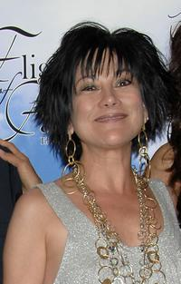 Dyana Ortelli at the cocktail party of