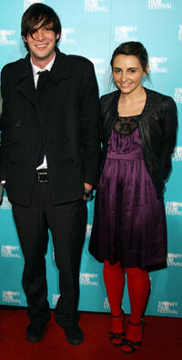 Toby Schmitz and Pia Miranda at the Australian premiere of