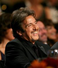 Al Pacino smiles at the 35th afi Life Achievement Award.