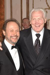 Jack Palance and Billy Crystal at the American Museum of the Moving Image Salute to Billy Crystal at the Waldorf Astoria.