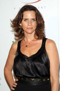 Amy Landecker at the U.S. Open Player party.
