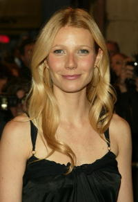 "Gwyneth Paltrow at the opening night of ""Sweet Charity"" on Broadway in New York City."