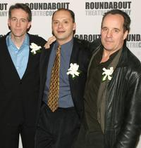 Boyd Gaines, Michael Mastro and John Pankow at the premiere of