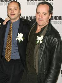Michael Mastro and John Pankow at the premiere of