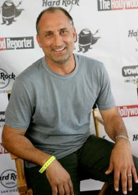 Michael Papajohn at the Rock Star Media Lounge during the Comic-Con 2010.