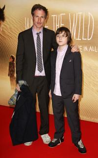 Spike Jonze and Max Records at the UK premiere of