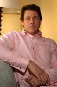 Michael Pare at the American Film Market.