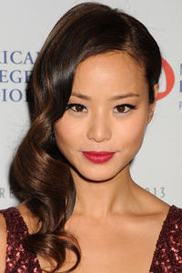 Jamie Chung at The Heart Truth 2013 Fashion Show in New York.