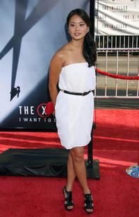 Jamie Chung at the premiere of