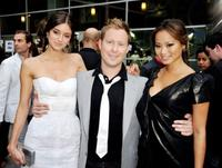 Caroline D'Amore, director Stewart Hendler and Jamie Chung at the premiere of