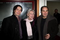 Nathaniel Parker, Dr. Jill Parker and Oliver Parker at the VIP screening of
