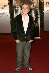 Tyler Steelman at the premiere of