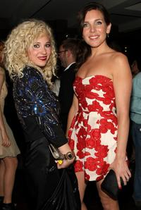 Juno Temple and June Diane Raphael at the after party of the New York premiere of